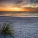 Cloud Shadow on Bonita Beach after Sunset