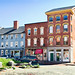 corner of Fore & Silver Streets, Old Port, Portland, Maine