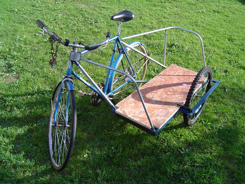 Как сделать на велосипед с коляской 928