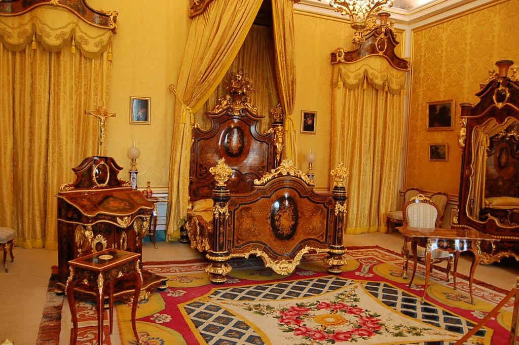 Dormitorio De Isabel Ii Palacio Real De Aranjuez This