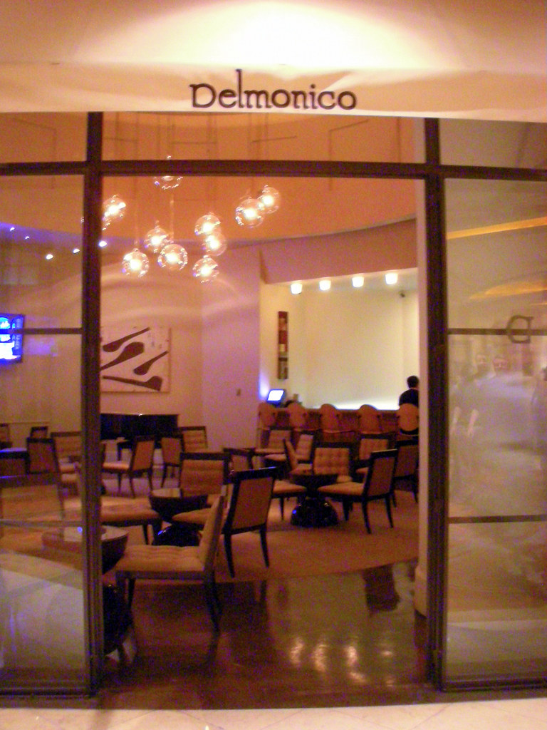 Delmonico Steakhouse In Venetian Palazzo Las Vegas Flickr