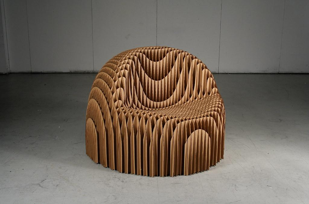 Cardboard Chair Chris Tolles Flickr