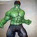The Hulk - Flexing
