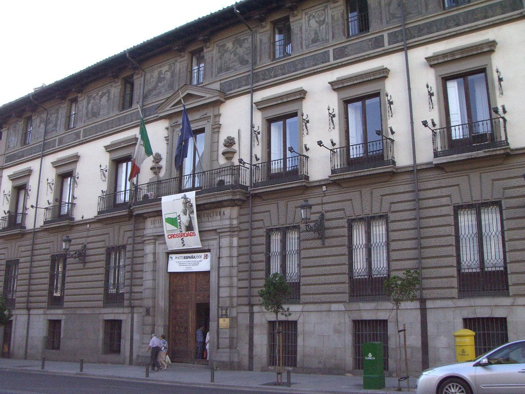 Madrid palacio de los duques de abrantes instituto ital for Instituto italiano de cultura madrid