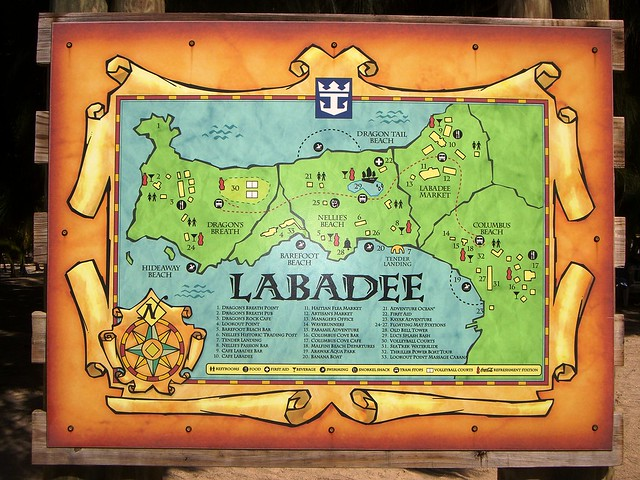 pin labadee haiti map image search results on pinterest