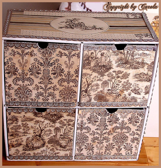 Toile cardboard drawers ikea cardboard drawers altered for Cardboard drawers ikea
