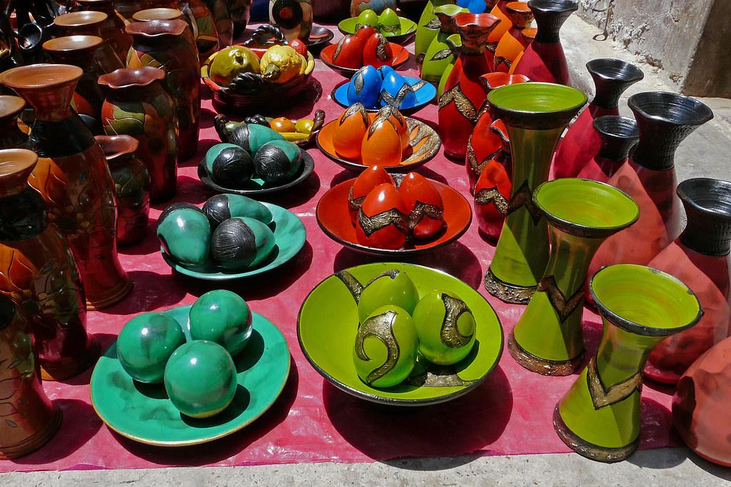 Artesania De Catacaos Piura Per 250 Festival De Colores