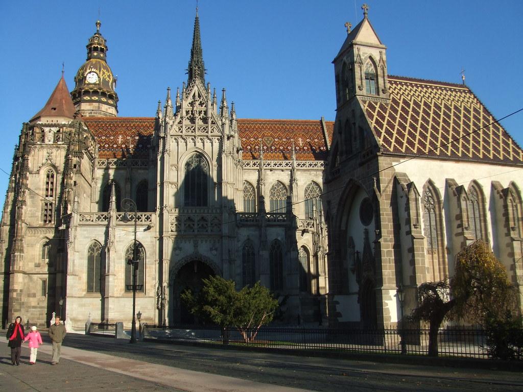 Kosice Slovakia St Elizabeths Cathedral Beautiful