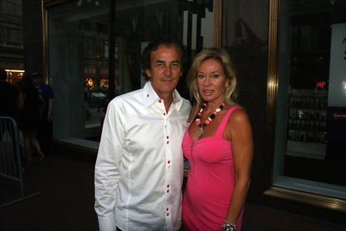 Arie Luyendyk And Wife Pose On The Carpet Indycar Series Flickr