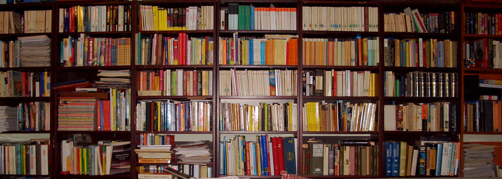Bookshelf David Orban Flickr