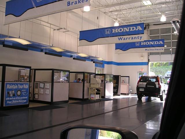 ... Breakaway Honda Service Reception, Greenville, SC | By Contrapunctus