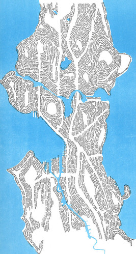 Word map of Seattle, 1971 | by Seattle Municipal Archives