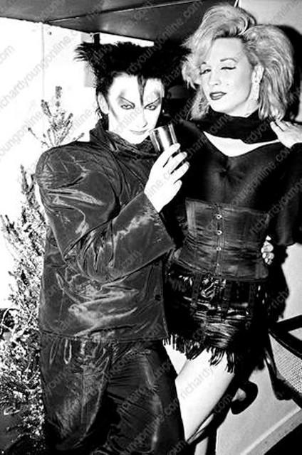 BOY GEORGE and MARILYN | 1980 | THE BOY GEORGE ALBUM | Flickr