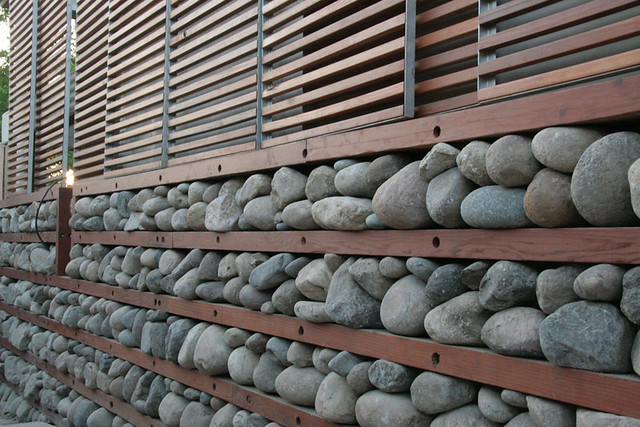 Rock Wall Design wall living rock ideas Passive Cooling Rock Wall A Natural Thermostat By Jeremy Levine Design