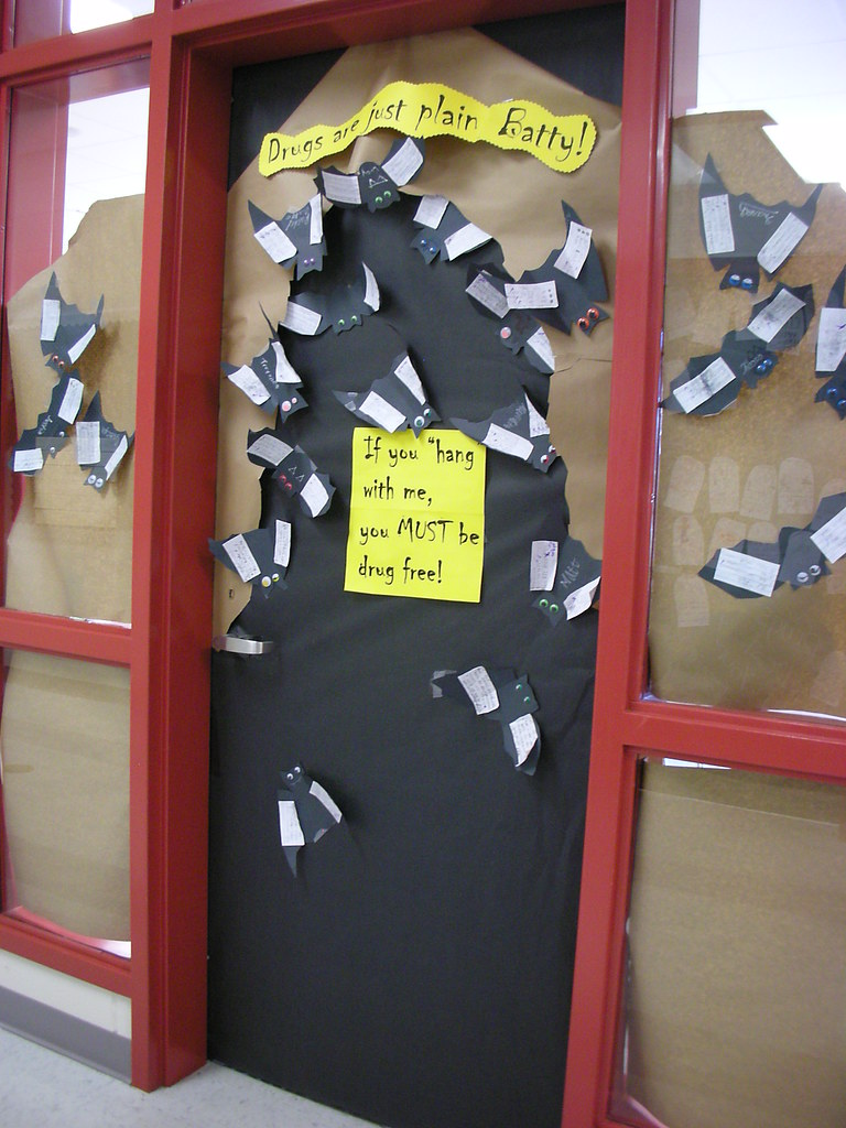 Door decorations for red ribbon week drugs are just plain flickr vtopaller Choice Image