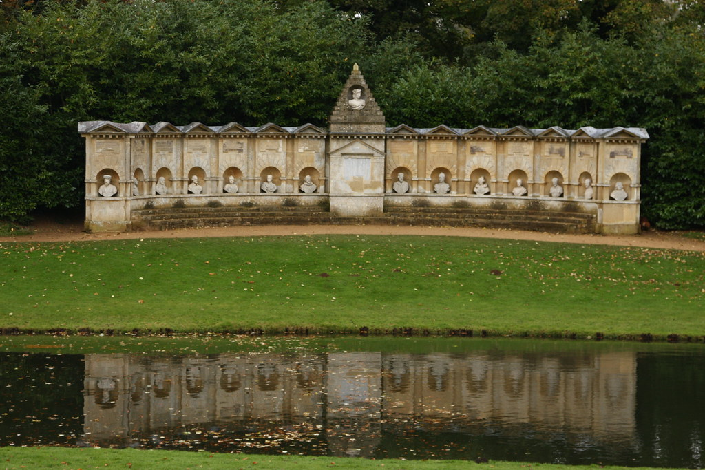 Stowe The Temple Of British Worthies Garden Monument Of