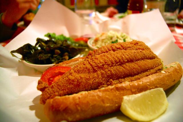 Catfish+Po+Boy catfish po'boy | Catfish po'boy from Dixie Kitchen ...