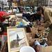Flea market Brussels