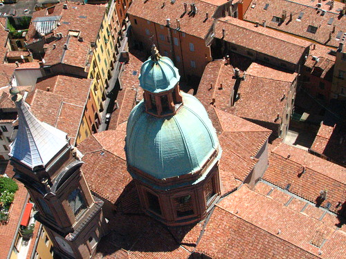 Aerial View of Bologna from the Towers | by SeppySills
