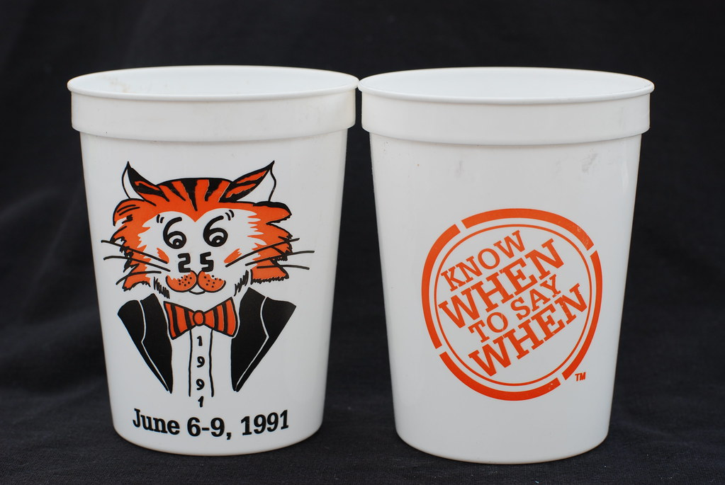 class of 1966 25th reunion cup reunions cups used to Rad Movie Class Reunion Logo