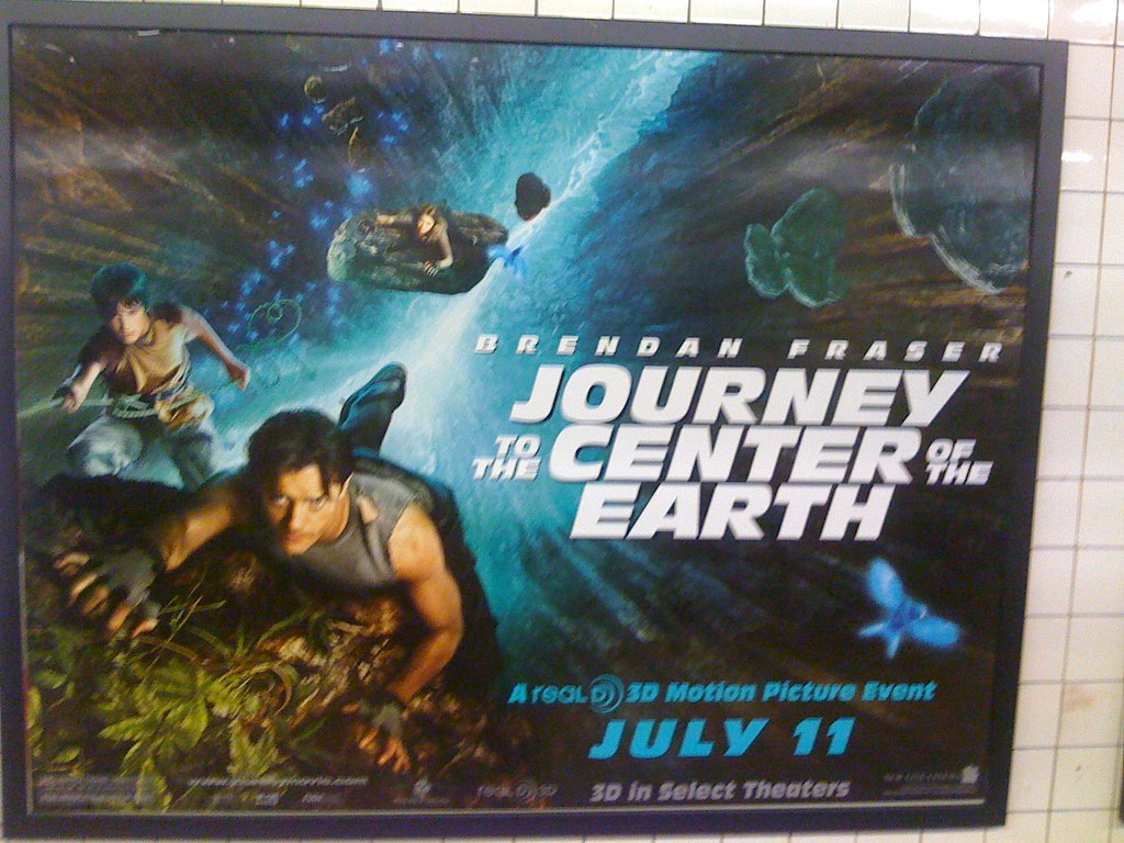 New 3D IMAX Movie with hollow earth plot. I personally bel ...