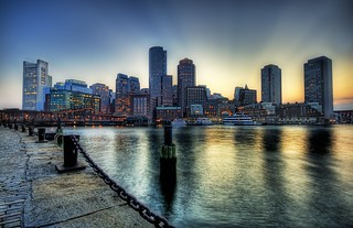 Boston on the Fringe of Sunset | by Stuck in Customs