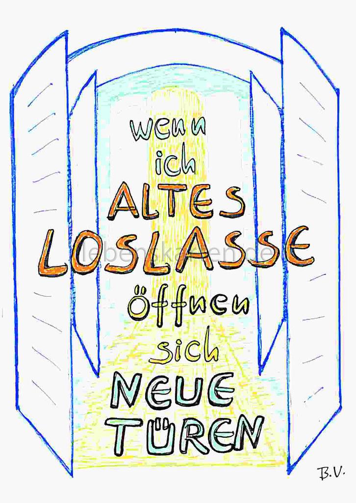 Neue türen  Wenn ich ALTES LOSLASSE öffnen sich NEUE TÜREN. | Lebenskarten ...