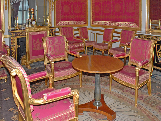 Le salon de l 39 abdication ch teau de fontainebleau for Le salon chatou
