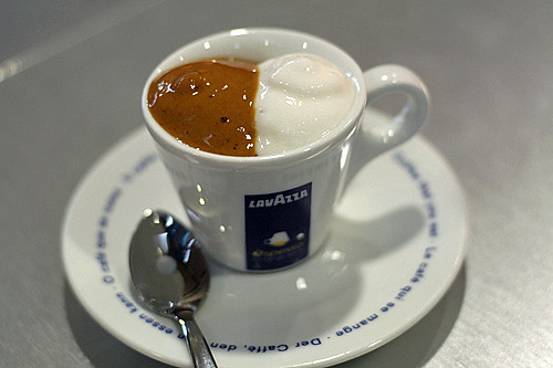 Lavazza espresso | by David Lebovitz
