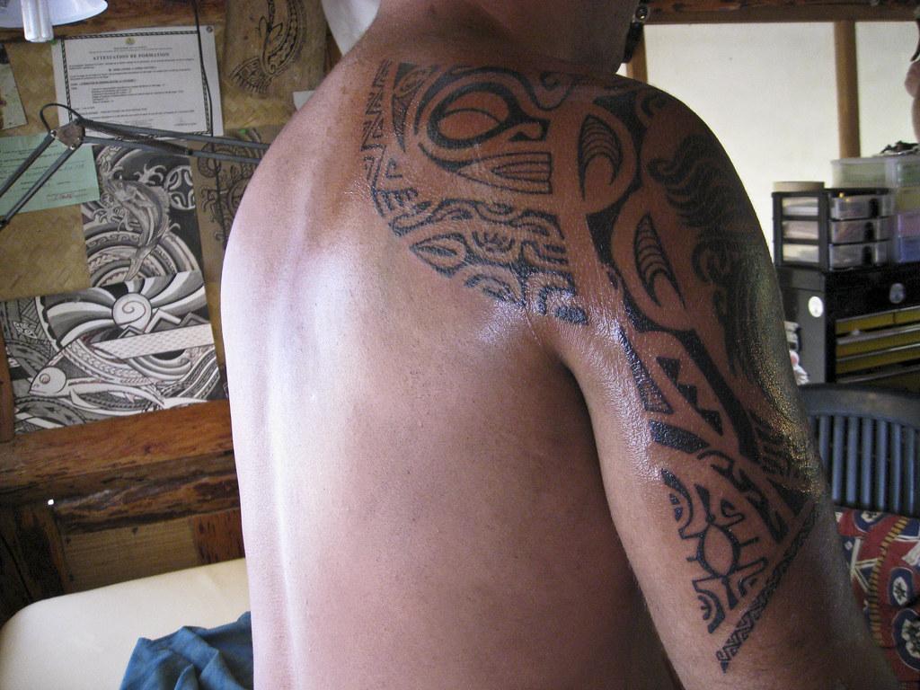 polynesian tattoo shark attacks flickr. Black Bedroom Furniture Sets. Home Design Ideas