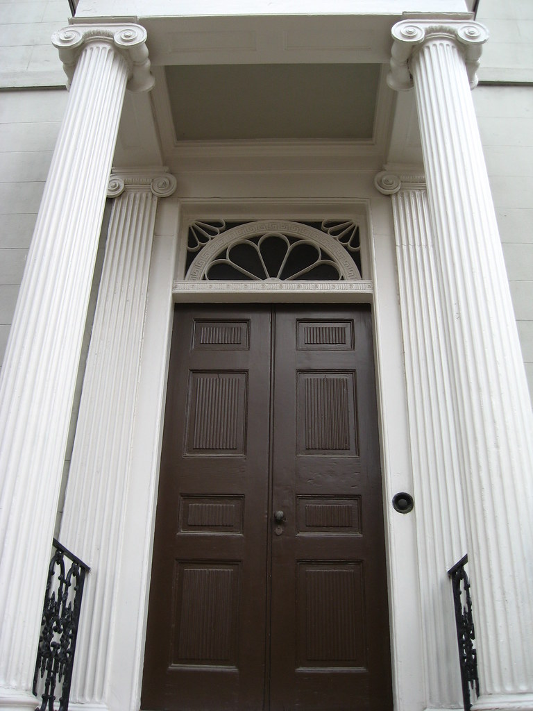 Front door of the Confederate White House | Museum of the ...