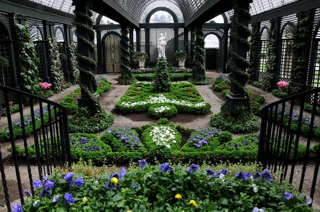 Spring will be silent in doris duke 39 s french garden flickr - French style gardens ...