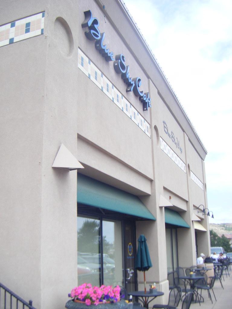 Blue Sky Cafe Menu Lexington Va