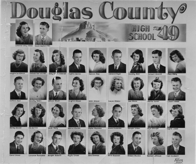 Douglas County High School Class Of 1949 Accession
