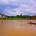 Bridges over the river Narmada in Jabalpur, India. (View original size)