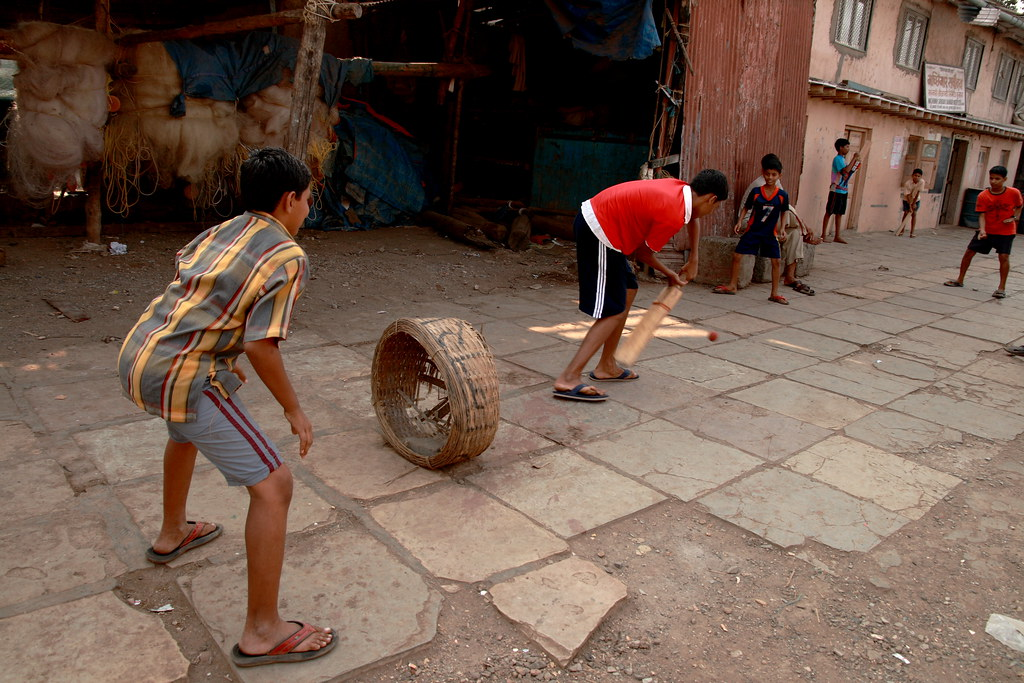Gully Cricket In Mumbai In Every Corner You See Kids