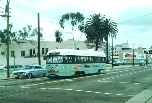 LAMTA.19630306 Car 3002 Line J Grand Near Pico | by Metro Transportation Library and Archive