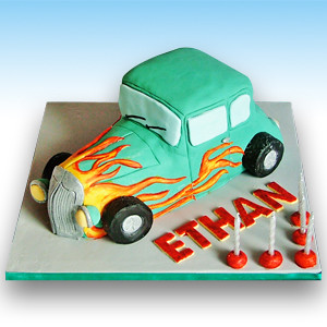 Drag Race Car Birthday Cake Cars are really popular with ...