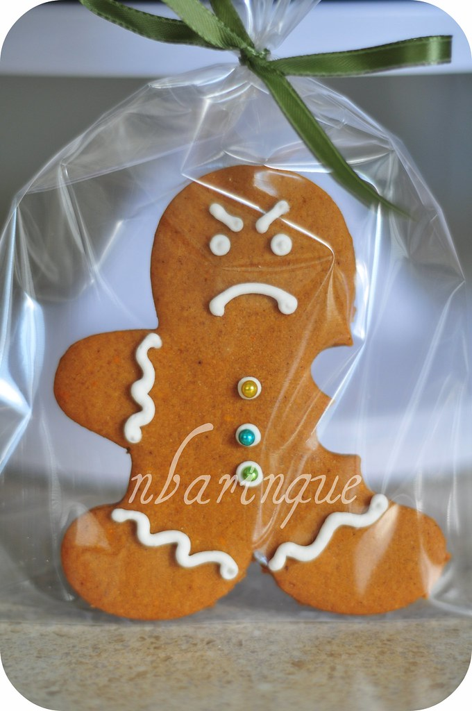 Angry Gingerbread Man This Grumpy Guy Made It Into The
