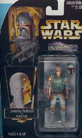 Autographed Jeremy Bulloch/Boba Fett custom Star Wars figure | by Paxton Holley