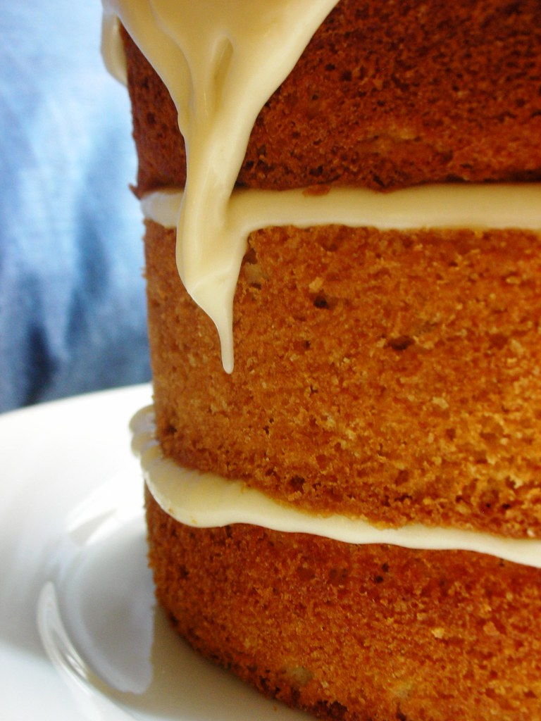 Ginger Cake With Lemon Cream Cheese Frosting