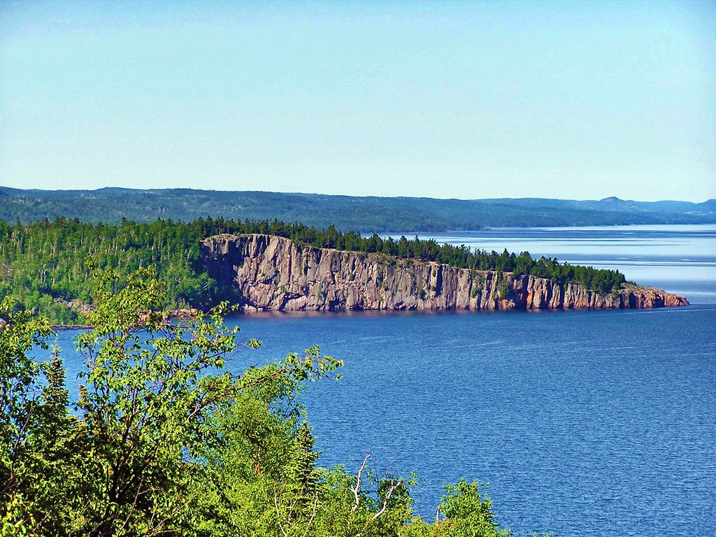Shovel Point on the North Shore of Lake Superior | I took