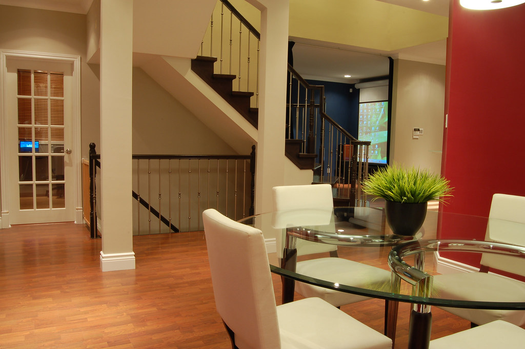 Open Stairs To Basement