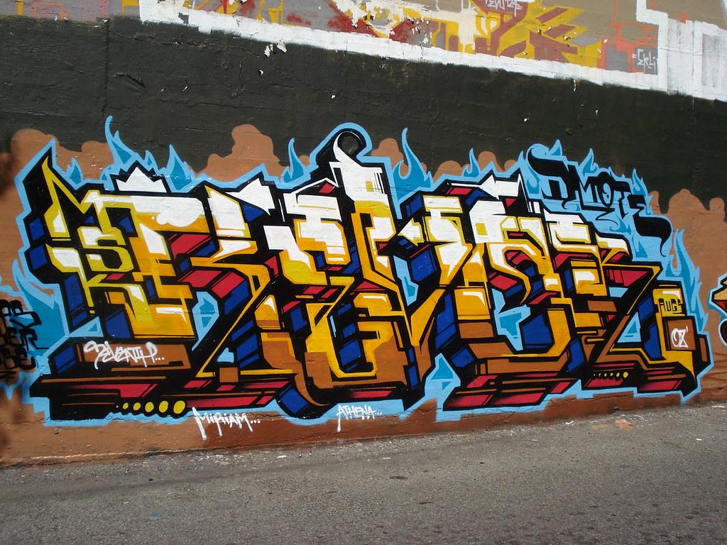Revok MSK AWR SeventhLetter LosAngeles Graffiti Art   Flickr