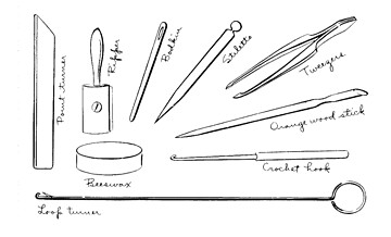 """sewing equipment: little tools 
