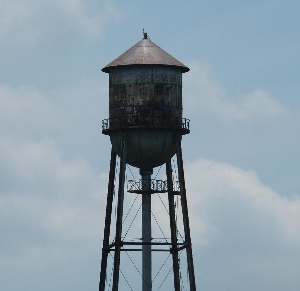 Tin Man Tower Princeton In Old Tin Man Water Tower In