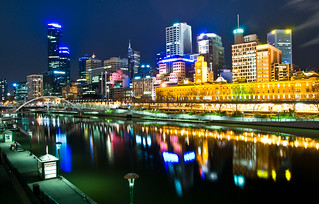 Melbourne, Australia by night | by Linh_rOm