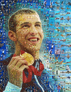 Michael Phelps portrait for The Los Angeles Times | by tsevis