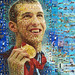 Michael Phelps portrait for The Los Angeles Times
