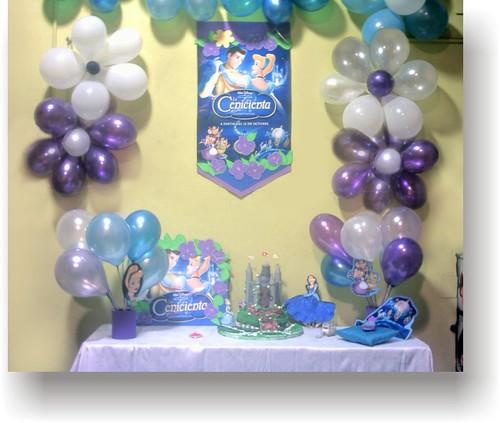 Fiesta cumpleaños cenicienta - Imagui